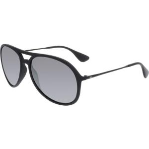 Ray-Ban Men's Alex RB4201-622/6G-59 Black Aviator Sunglasses