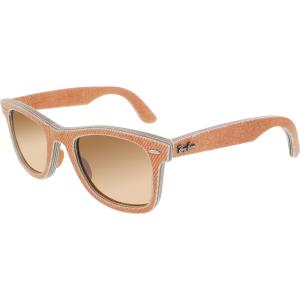 Ray-Ban Men's Gradient Original Wayfarer RB2140-11653C-50 Orange Square Sunglasses