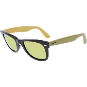 Ray-Ban Men's Original Wayfarer RB2140-117393-50 Black Square Sunglasses