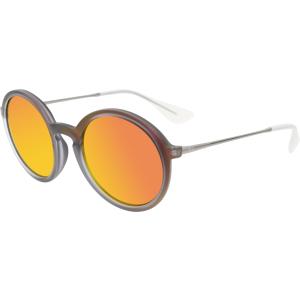 Ray-Ban Women's  RB4222-61676Q-50 Purple Round Sunglasses
