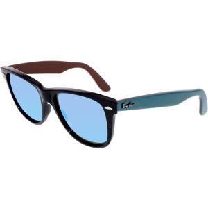 Ray-Ban Men's Original Wayfarer RB2140-117519-54 Black Square Sunglasses