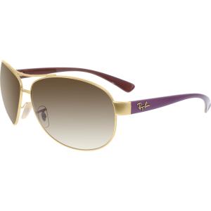 Ray-Ban Men's Gradient  RB3386-112/13-67 Gold Aviator Sunglasses