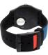 Swatch Men's Originals SUOB121 Black Silicone Swiss Quartz Watch - Back Image Swatch