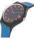 Swatch Men's Originals SUOB121 Black Silicone Swiss Quartz Watch - Side Image Swatch