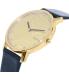 Bulova Men's 97D105 Black Leather Quartz Watch - Side Image Swatch