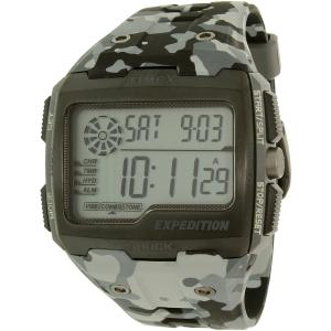 Timex Men's Expedition TW4B03000 Grey Rubber Quartz Watch