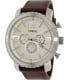 Fossil Men's BQ1177 Brown Leather Quartz Watch - Main Image Swatch