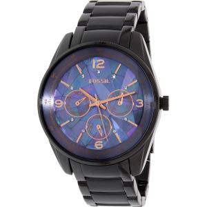 Fossil Women's Other-La BQ1683 Black Stainless-Steel Quartz Watch