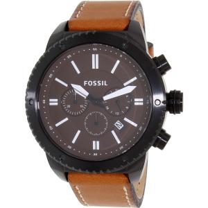 Fossil Men's BQ2056 Brown Leather Quartz Watch