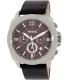Fossil Men's BQ2059 Black Leather Quartz Watch - Main Image Swatch