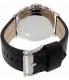 Fossil Men's BQ2059 Black Leather Quartz Watch - Back Image Swatch