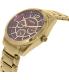 Fossil Women's BQ3043 Gold Stainless-Steel Quartz Watch - Side Image Swatch