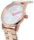 Nixon Women's Kensington A3611045 Rose Gold Stainless-Steel Quartz Watch - Side Image Swatch