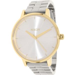 Nixon Women's Kensington A0992062 Silver Stainless-Steel Quartz Watch