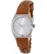 Nixon Women's Time Teller A5092082 Brown Leather Quartz Watch - Main Image Swatch