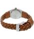 Nixon Women's Time Teller A5092082 Brown Leather Quartz Watch - Back Image Swatch