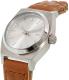 Nixon Women's Time Teller A5092082 Brown Leather Quartz Watch - Side Image Swatch