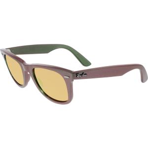 Ray-Ban Men's Original Wayfarer RB2140-6109Z2-50 Green Square Sunglasses