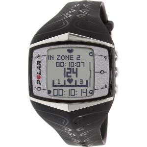 Polar Men's Heart Rate Monitor FT60F-BLK Black Rubber Quartz Watch