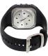 Polar Men's Heart Rate Monitor FT60F-BLK Black Rubber Quartz Watch - Back Image Swatch
