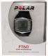 Polar Men's Heart Rate Monitor FT60F-BLK Black Rubber Quartz Watch - V4 Image Swatch