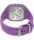 Polar Women's Heart Rate Monitor FT60F-LIL Purple Rubber Quartz Watch - Back Image Swatch