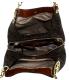 Michael Kors Women's Large Fulton Logo  Bag Leather Shoulder Tote - Back Image Swatch