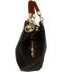 Michael Kors Women's Large Fulton Logo  Bag Leather Shoulder Tote - Side Image Swatch