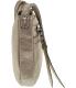 Fossil Women's Mini Dawson Metallic Crossbody Leather Cross-Body Baguette - Side Image Swatch