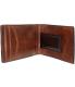 Fossil Men's Quinn Money Clip Bifold Leather Wallet Baguette - Back Image Swatch
