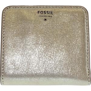 Fossil Women's Sydney Metallic Bifold Leather Wallet Baguette