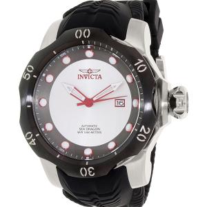 Invicta Men's Venom 19308 Black Silicone Automatic Watch