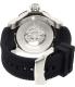 Invicta Men's Venom 19308 Black Silicone Automatic Watch - Back Image Swatch