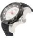 Invicta Men's Venom 19308 Black Silicone Automatic Watch - Side Image Swatch