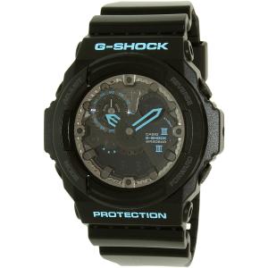 Casio Men's G-Shock GA300BA-1A Black Plastic Quartz Watch