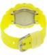 Casio Women's Baby-G BA110CA-9A Yellow Plastic Quartz Watch - Back Image Swatch