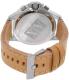 Armani Exchange Men's AX1516 Tan Leather Quartz Watch - Back Image Swatch