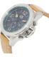 Armani Exchange Men's AX1516 Tan Leather Quartz Watch - Side Image Swatch