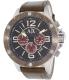 Armani Exchange Men's AX1518 Brown Leather Quartz Watch - Main Image Swatch