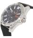 Hugo Boss Men's Orange 1513290 Black Silicone Quartz Watch - Side Image Swatch