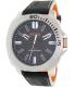 Hugo Boss Men's Sao Paulo 1513295 Black Leather Quartz Watch - Main Image Swatch