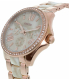 Fossil Women's Cecile AM4616 Rose Gold Stainless-Steel Quartz Watch - Side Image Swatch