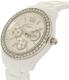 Fossil Women's Stella ES3813 White Ceramic Quartz Watch - Side Image Swatch