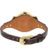 Fossil Women's Original Boyfriend ES3910 Brown Leather Quartz Watch - Back Image Swatch