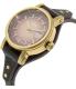 Fossil Women's Original Boyfriend ES3910 Brown Leather Quartz Watch - Side Image Swatch