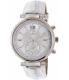 Michael Kors Women's Sawyer MK2443 Silver Leather Quartz Watch - Main Image Swatch