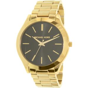 Michael Kors Women's Slim Runway MK3478 Gold Stainless-Steel Quartz Watch