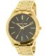 Michael Kors Women's Slim Runway MK3478 Gold Stainless-Steel Quartz Watch - Main Image Swatch