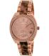 Michael Kors Women's Bryn MK6276 Tortoiseshell Stainless-Steel Quartz Watch - Main Image Swatch