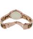 Michael Kors Women's Bryn MK6276 Tortoiseshell Stainless-Steel Quartz Watch - Back Image Swatch